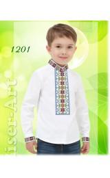 Заготовка для вишивки Хлопчачої сорочки, льон білий (1201)