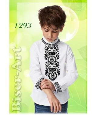 Заготовка для вишивки Хлопчачої сорочки, льон білий (1293)
