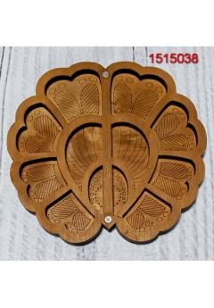 Органайзер для бісеру Квітка папороті (1515038)