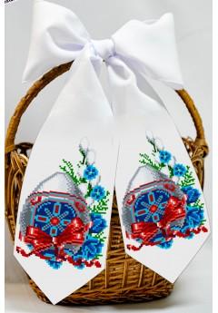 Бант пасхальний для вишивки бісером (нитками) (24019)