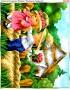 Схема для вишивки бісером (хрестиком) Троянда в подарунок (296)
