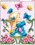Схема для вишивки бісером (хрестиком) Чарівні метелики (298)