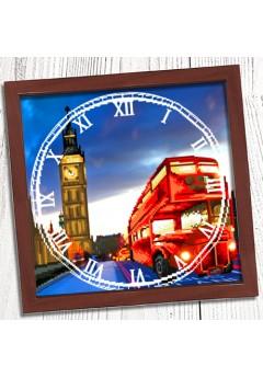 Годинник для вишивки бісером *Вечір в Лондоні* (007)
