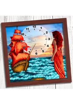 Годинник для вишивки бісером *Ассоль* (008)