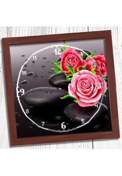 Годинник для вишивки бісером *Троянда* (011)
