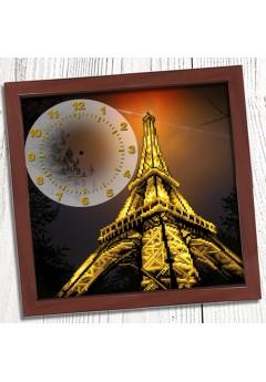 Годинник для вишивки бісером *Вечірній Париж* (013)