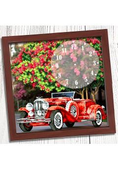 Годинник для вишивки бісером *Автомобіль* (020)