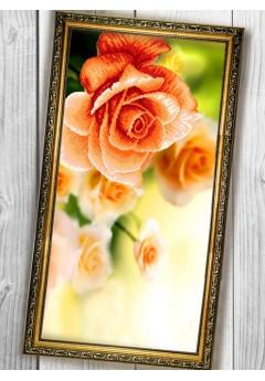 Схема вишивки бісером (хрестиком) «Троянда (3060008)»