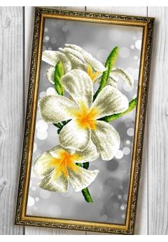 Схема вишивки бісером (хрестиком) «Квіти (3060009)»