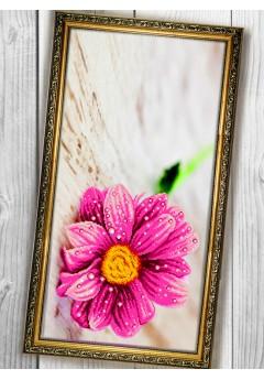 Схема вишивки бісером (хрестиком) «Квітка (013)»