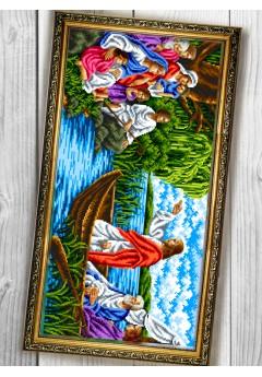Схема вишивки бісером (хрестиком) «Проповідь Ісуса (089)»