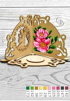 Підсвічник *Квітка* (51001)