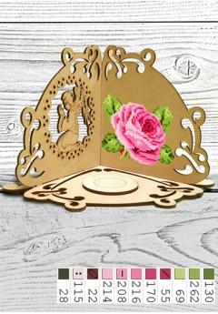 Підсвічник *Троянда* (51004)