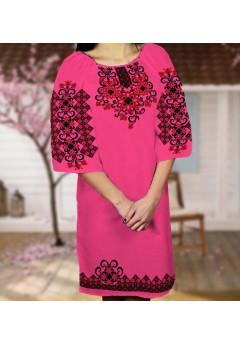 Плаття, малиновий габардин (6065)