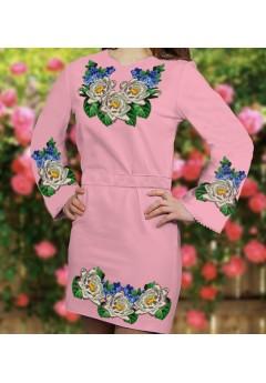 Плаття, рожевий габардин (6086)