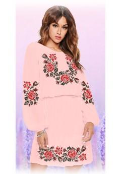 Плаття, абрикосовий габардин (6096)