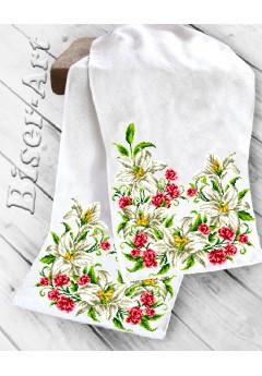 Рушник на ікони для вишивки бісером(нитками) (8009)
