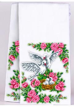 Рушник на ікони для вишивки бісером(нитками) (8018)