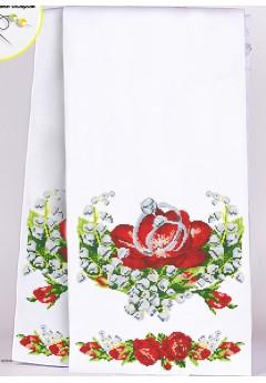Рушник весільний для вишивки бісером(нитками) (8031)