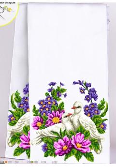 Рушник на ікони для вишивки бісером(нитками) (8034)