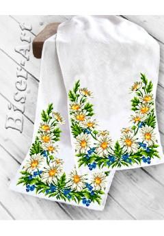 Рушник на ікони для вишивки бісером(нитками) (8040)