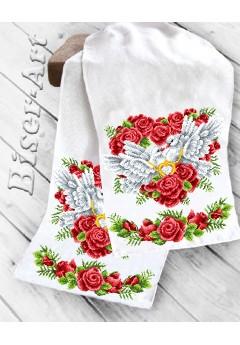 Рушник на ікони для вишивки бісером(нитками) (8045)