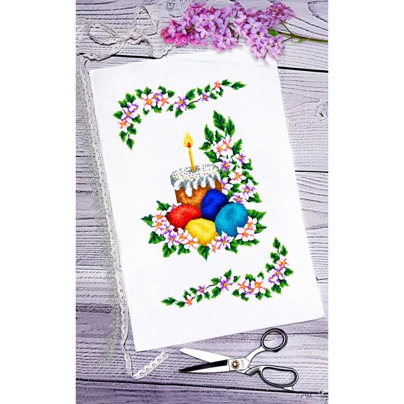 Пасхальний рушник для вишивки бісером(нитками) (063) 9a90332513bb0