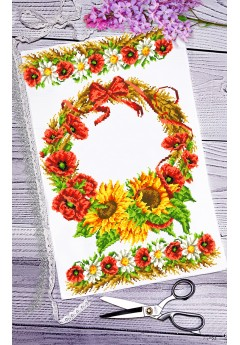Спасівський рушник для вишивки бісером(нитками) (120)