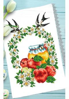 Спасівський рушник для вишивки бісером(нитками) (123)