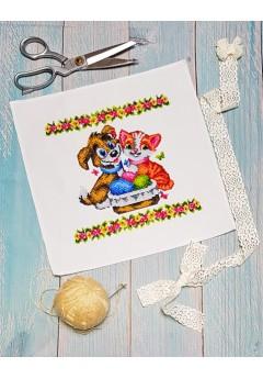 Дитячий пасхальний рушник (9510)