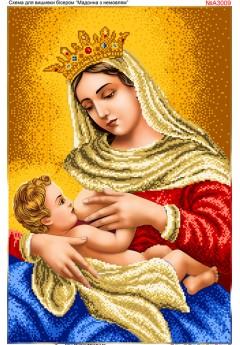 Мадонна з немовлям (А3009)