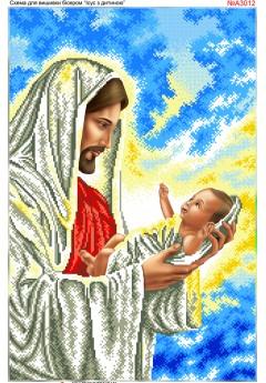Ісус з немовлям (А3012)