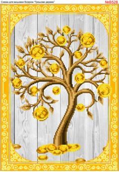 Схема вишивки бісером (хрестиком) Грошове дерево (B528)