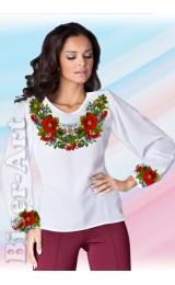 Заготовка вишиванки Жіночої Сорочки для вишивки бісером(вишивки хрестиком) Г (SZ1)