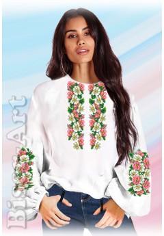 Заготовка вишиванки Жіночої Сорочки для вишивки бісером(вишивки хрестиком) Г (SZ7)