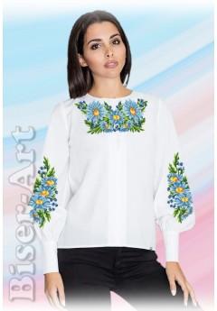 Заготовка вишиванки Жіночої Сорочки для вишивки бісером(вишивки хрестиком) Г (SZ103)