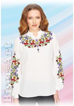 Заготовка вишиванки Жіночої Сорочки для вишивки бісером(вишивки хрестиком) Г (SZ104)
