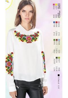 Заготовка вишиванки Жіночої Сорочки для вишивки бісером(вишивки хрестиком) Г (SZ105)