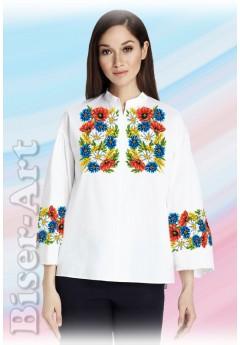 Заготовка вишиванки Жіночої Сорочки для вишивки бісером(вишивки хрестиком) Г (SZ107)