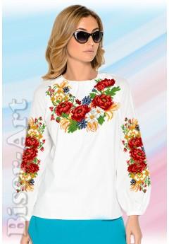 Заготовка вишиванки Жіночої Сорочки для вишивки бісером(вишивки хрестиком) Г (SZ12)