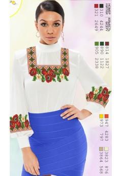 Заготовка вишиванки Жіночої Сорочки для вишивки бісером(вишивки хрестиком) Г (SZ20)