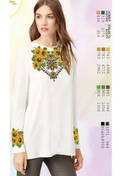 Заготовка вишиванки Жіночої Сорочки для вишивки бісером(вишивки хрестиком) Г (SZ21)