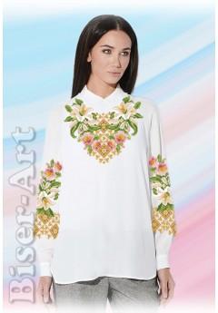 Заготовка вишиванки Жіночої Сорочки для вишивки бісером(вишивки хрестиком) Г (SZ22)