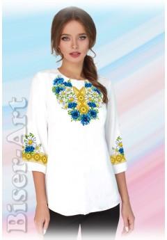 Заготовка вишиванки Жіночої Сорочки для вишивки бісером(вишивки хрестиком) Г (SZ24)