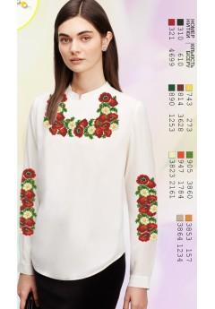 Заготовка вишиванки Жіночої Сорочки для вишивки бісером(вишивки хрестиком) Г (SZ25)