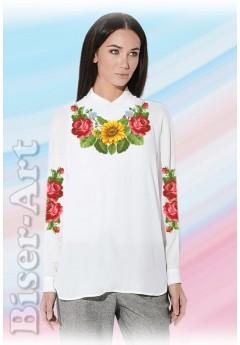 Заготовка вишиванки Жіночої Сорочки для вишивки бісером(вишивки хрестиком) Г (SZ26)