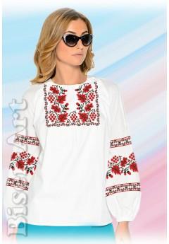 Заготовка вишиванки Жіночої Сорочки для вишивки бісером(вишивки хрестиком) Г (SZ30)