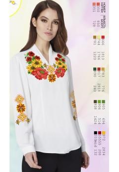 Заготовка вишиванки Жіночої Сорочки для вишивки бісером(вишивки хрестиком) Г (SZ35)