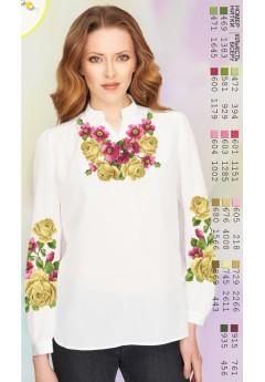 Заготовка вишиванки Жіночої Сорочки для вишивки бісером(вишивки хрестиком) Г (SZ36)
