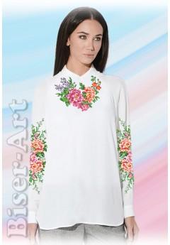 Заготовка вишиванки Жіночої Сорочки для вишивки бісером(вишивки хрестиком) Г (SZ38)
